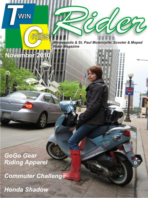 Twin Cities Rider November 2010 Cover