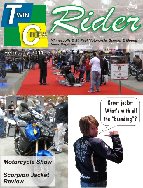 Twin Cities Rider February 2011 Issue Cover